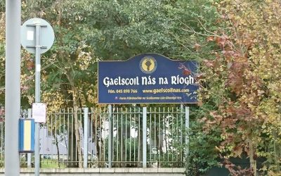 Gaelscoil Nás na Ríogh – Before and After