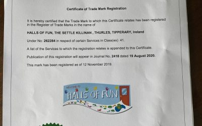Trade Mark for Halls of Fun